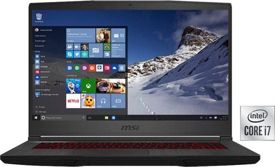 MSI GF65 Thin 10UE-095 Gaming-Notebook (39,6 cm/15,6 Zoll, Intel Core i7, GeForce RTX™ 3060, 512 GB SSD)