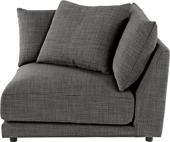 Places of Style Sofa-Eckelement »Volente«, setzen Sie ihr eigenes Modul-Sofa zusammen