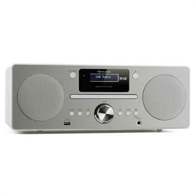 Auna »Harvard Micro-Anlage DAB/DAB+ UKW-Tuner CD-Player USB-Charger weiß« Kompaktanlage (DAB/DAB+, 0 W)