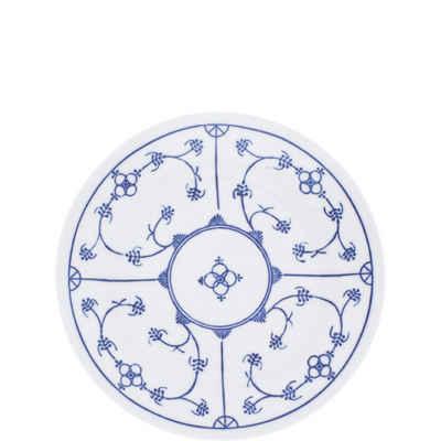 Kahla Frühstücksteller »Blau Saks 19 cm«, von Hand dekoriert