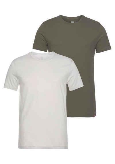 Levi's® T-Shirt (Packung, 2-tlg., 2er-Pack) in schlichter Optik