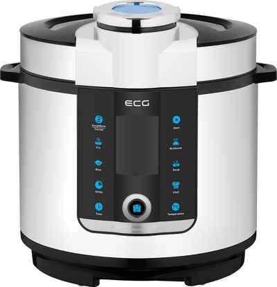 ECG Multikocher MHT 1660, 1000 W, 6 l Schüssel, 6 Liter Volumen, 16 voreingestellte Programme, 16 voreingestellte Programme