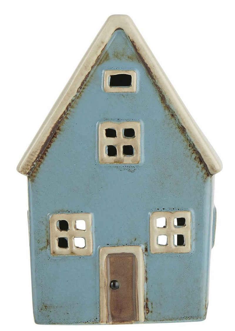 Ib Laursen Kerzenhalter »Lichterhaus Teelichthalter Teelichthaus Windlicht Haus H 14cm Ib Laursen 2760-23«