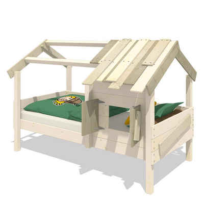 Wickey Kinderbett »Hausbett CrAzY Sunrise - Holzbett 90 x 200 cm«