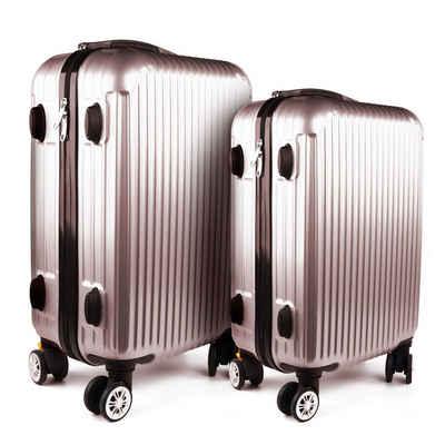 HTI-Living Kofferset »Kofferset 2-tlg High Level«, 4 Rollen, (Set, 2 tlg)