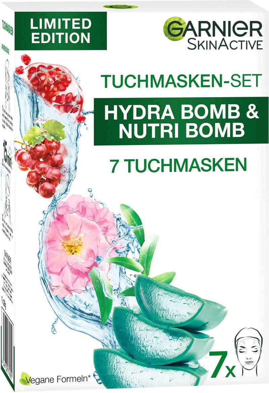 GARNIER Tuchmaske »SkinActive Tuchmasken-Set«, 7-tlg.
