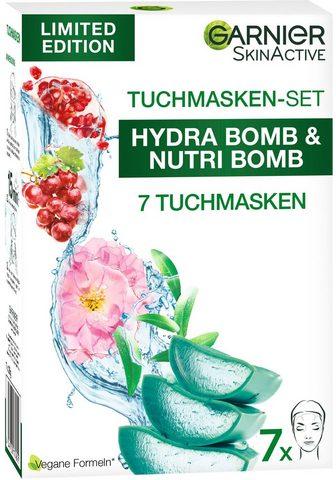 GARNIER Tuchmaske »SkinActive Tuchmasken-Set« ...
