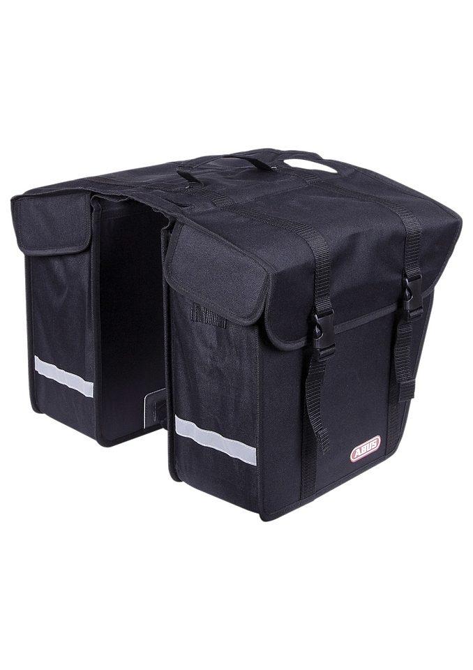 Gepäckträger-Doppelpacktasche, ABUS