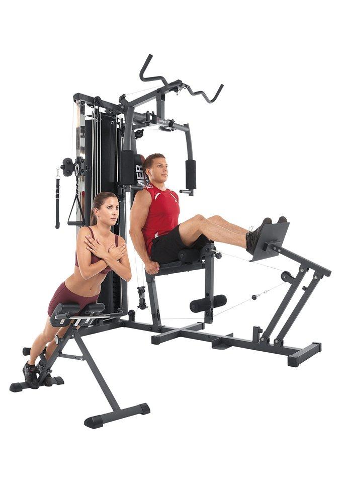 Fitness-Station, »FERRUM TX4«, Hammer in schwarz-silberfarben-rot