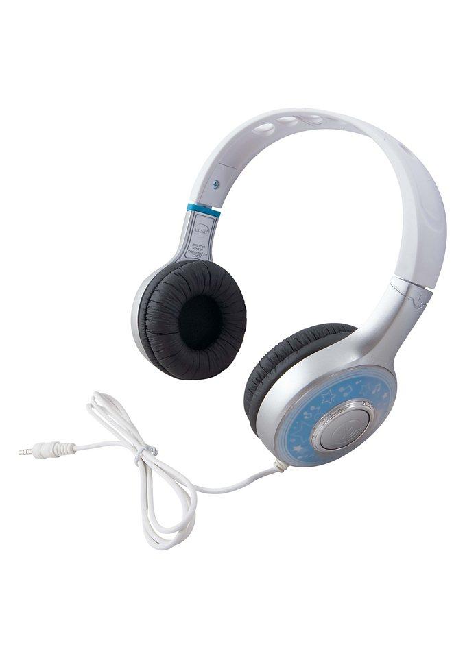 Kopfhörer, VTech in silberfarben