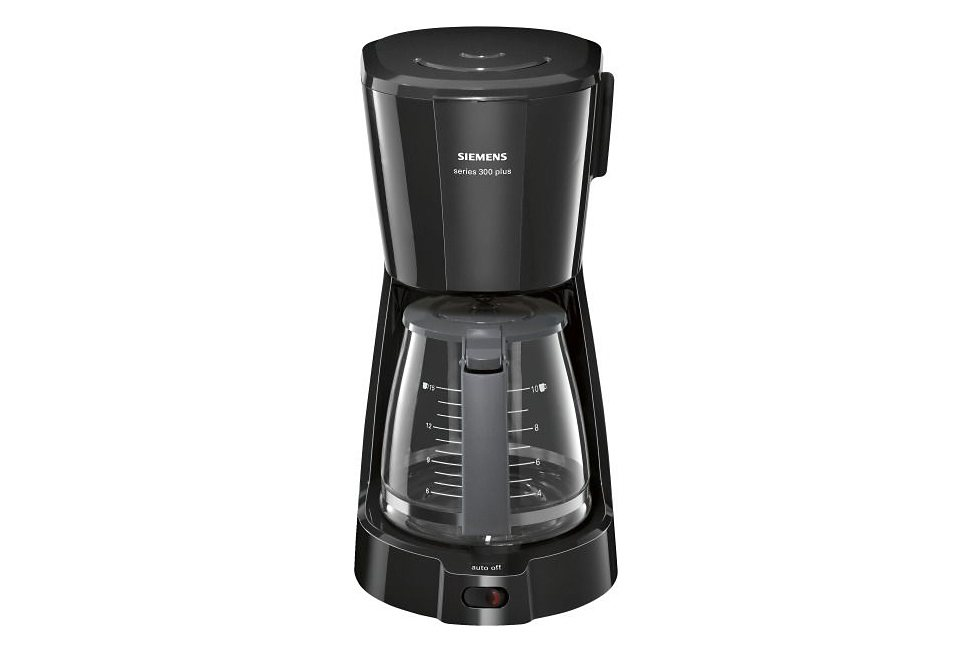 Siemens Kaffeemaschine series 300 plus TC3A0303, schwarz in schwarz
