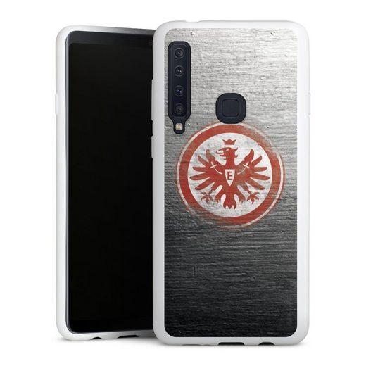 DeinDesign Handyhülle »Eintracht Logo Scratched« Samsung Galaxy A9 (2018), Hülle Eintracht Frankfurt SGE Logo