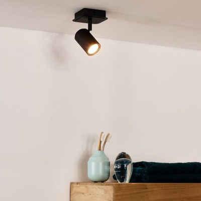 click-licht LED Deckenstrahler »LED Deckenstrahler Lennert aus Metall 5W GU10«, Deckenstrahler, Deckenspot, Aufbaustrahler