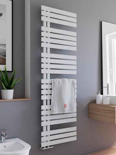 Schulte Badheizkörper »Breda Design-Heizkörper Pearl Weiß«, mit Handtuchhalter-Funktion
