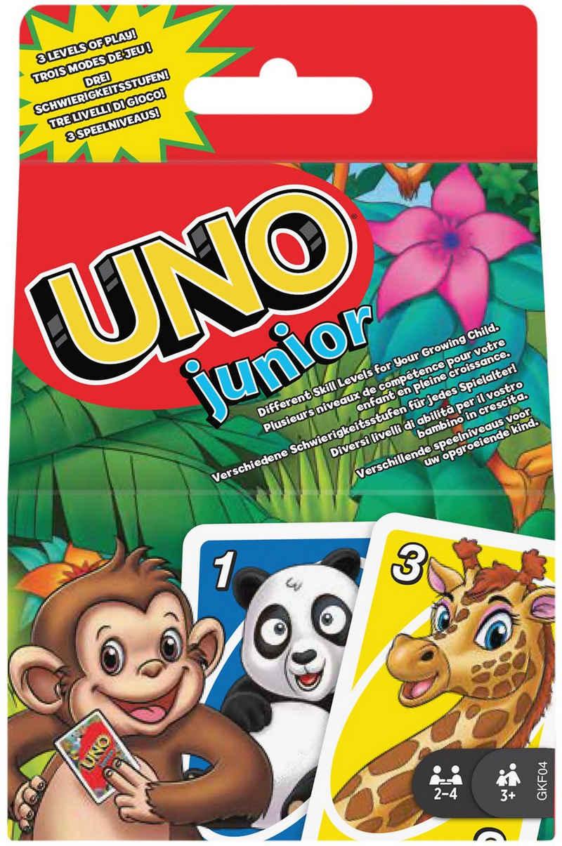 Mattel games Spiel, Kartenspiel »UNO Junior«