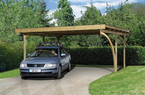 WEKA Doppelcarport BxT: 500x500 cm