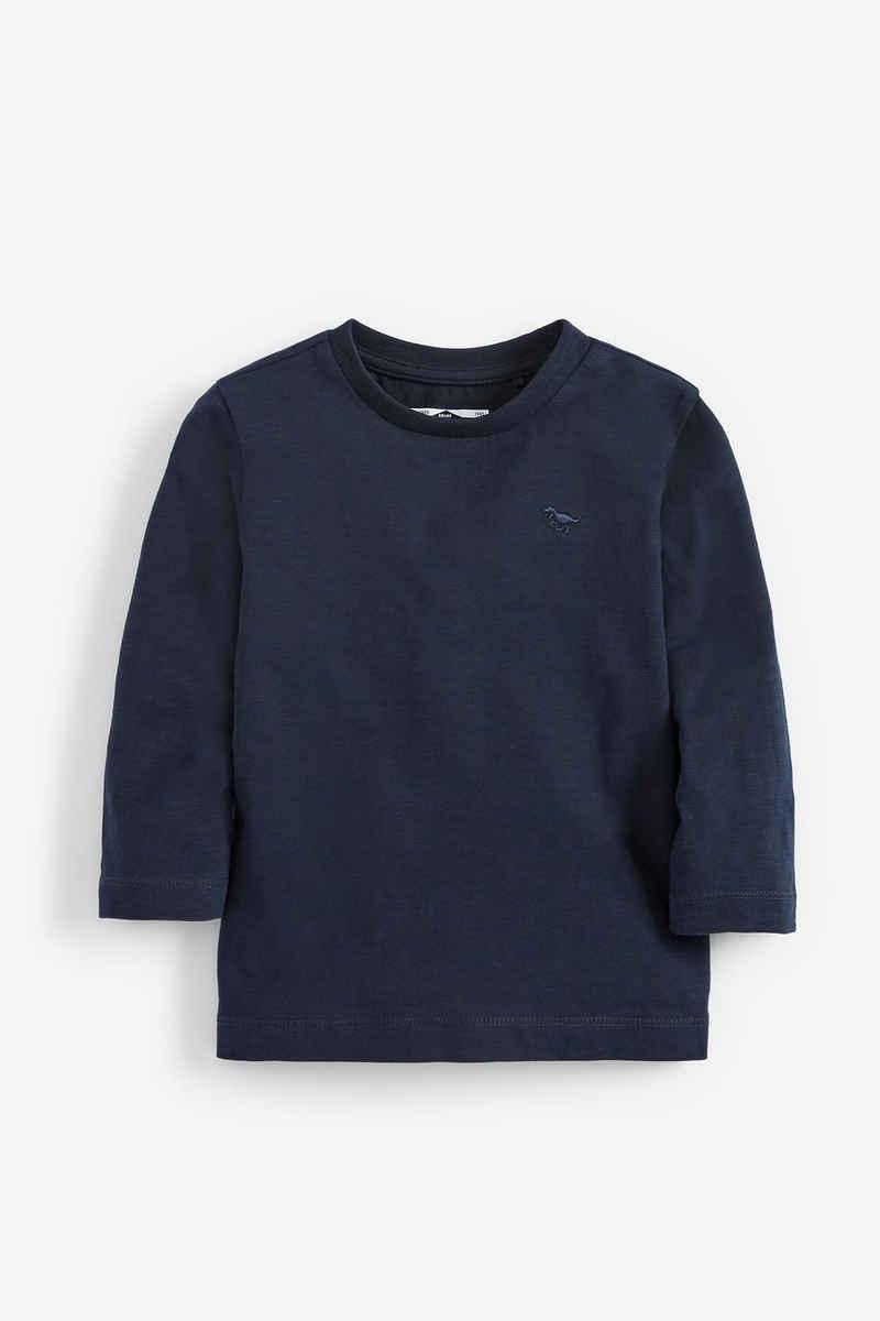 Next Langarmshirt »Einfarbiges Shirt« (1-tlg)