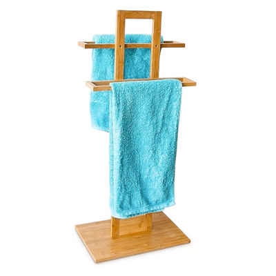 relaxdays Handtuchständer »Handtuchständer Bambus«