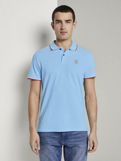 TOM TAILOR Poloshirt »Poloshirt in Two-Tone Optik«