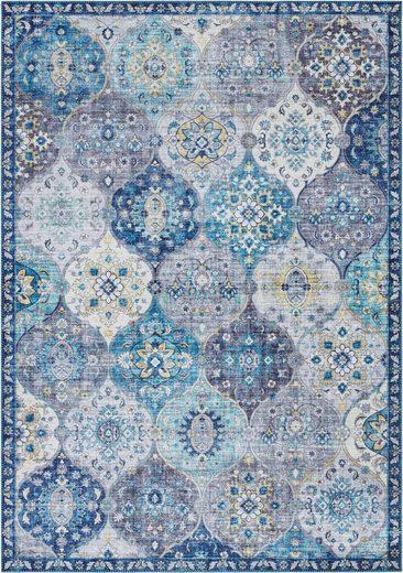 Teppich »Kashmir Ghom«, ELLE Decor, rechteckig, Höhe 5 mm, Orient-Optik