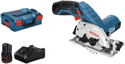 Bosch Professional Akku-Handkreissäge »GKS 12V-26«, Set, 12 V, 26 mm, inkl. 2 Akkus & Ladegerät