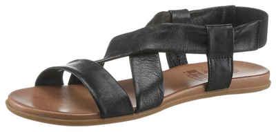 2GO FASHION Sandale mit Gummizug für bequemes Einschlupfen