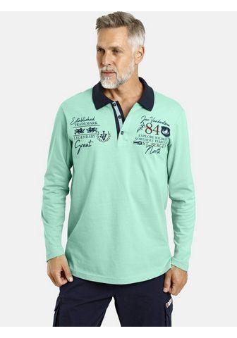 Jan Vanderstorm Langarm-Poloshirt »SIGBRAND« su hochwe...