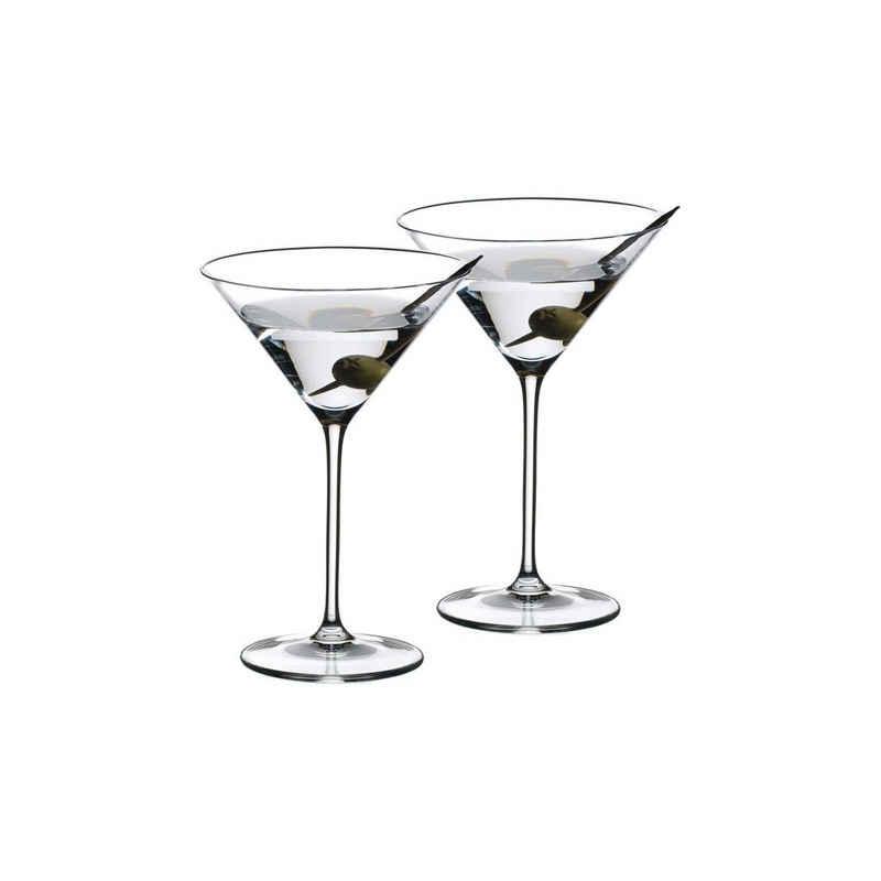 RIEDEL Glas Martiniglas »VINUM Martini 2er Set«, Glas