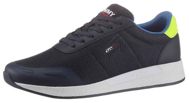 Tommy Jeans »FLEXI MESH TJM RUNNER« Sneaker mit gepolstertem Schaftrand