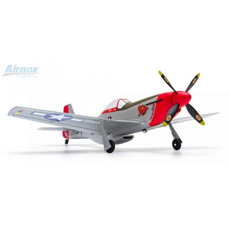 efaso RC-Flugzeug »Airnox P-51D Mustang RTF 4 Kanal mit 3 Achs Gyro«