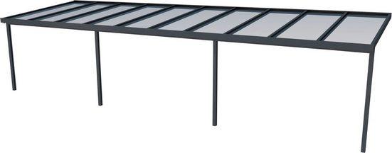 GUTTA Terrassendach »Premium«, BxT: 1014x306 cm, Dach Polycarbonat bronce