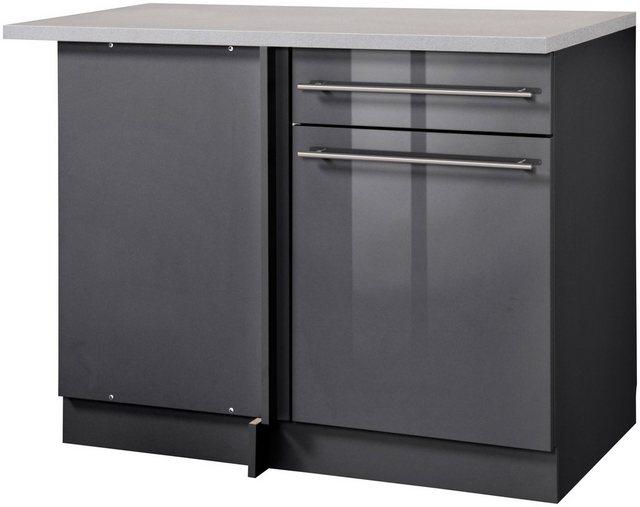 Küchenschränke - wiho Küchen Eckunterschrank »Chicago« 110 cm breit  - Onlineshop OTTO