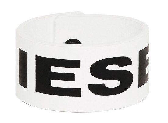 Diesel Armband »Herren Armband - A-LETTER, Echt Leder,«