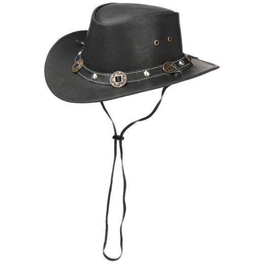 Scippis Cowboyhut Echtleder mit Kinnband, Made in Australia