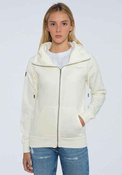 Pepe Jeans Sweater »ANETTE« mit Kängurutasche und kleinem Marken-Logo-Druck