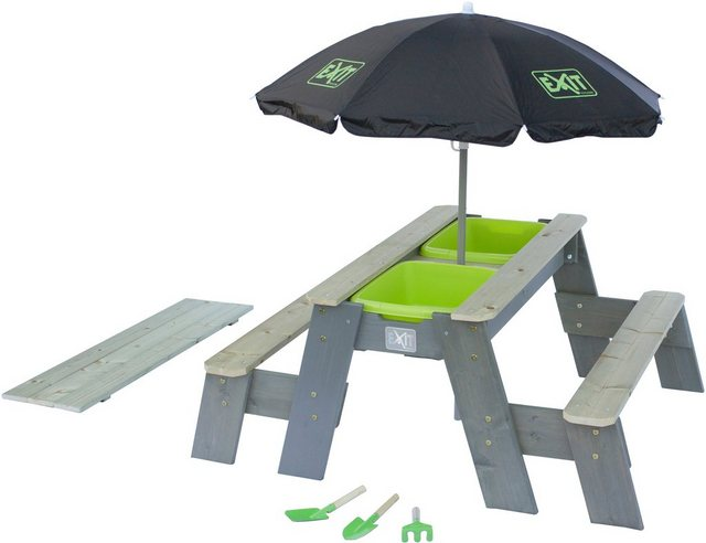 Sitzmöbel - EXIT Kindersitzgruppe »Aksent Deluxe«, Picknicktisch, BxT 94x120 cm  - Onlineshop OTTO