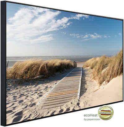 Papermoon Infrarotheizung »Strand«, sehr angenehme Strahlungswärme