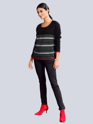 Alba Moda Pullover aus reinem Kaschmir