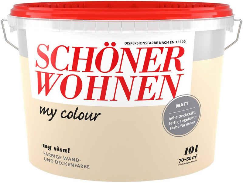 SCHÖNER WOHNEN-Kollektion Wand- und Deckenfarbe »my colour - my sisal«, matt, 10 l