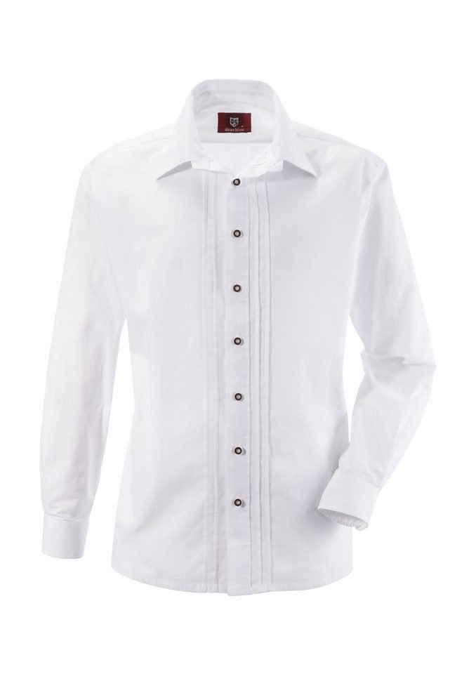 OS-Trachten Trachtenhemd mit Biesen