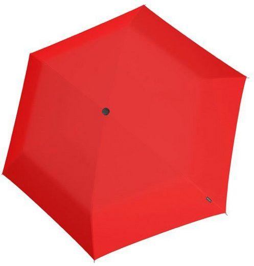 Knirps® Taschenregenschirm »Knirps U.200 Ultra Light Duo Red«