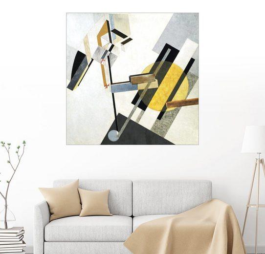Posterlounge Wandbild, Premium-Poster Proun 19D