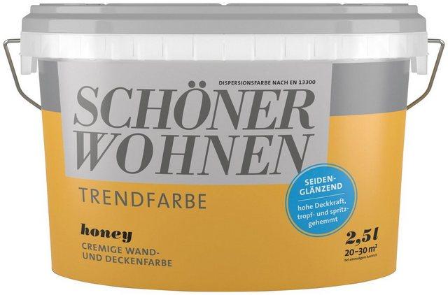 Schöner Wohnen Trendfarbe honey seidenglänzend 2,5 L