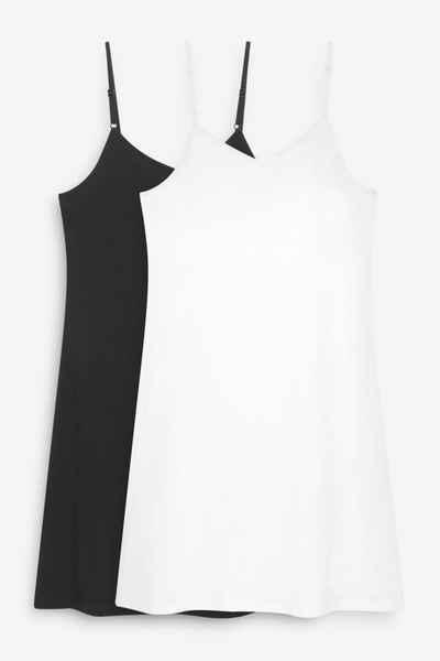 Next Unterrock »Unterkleid aus Baumwolle, 2er-Pack« (2-tlg)