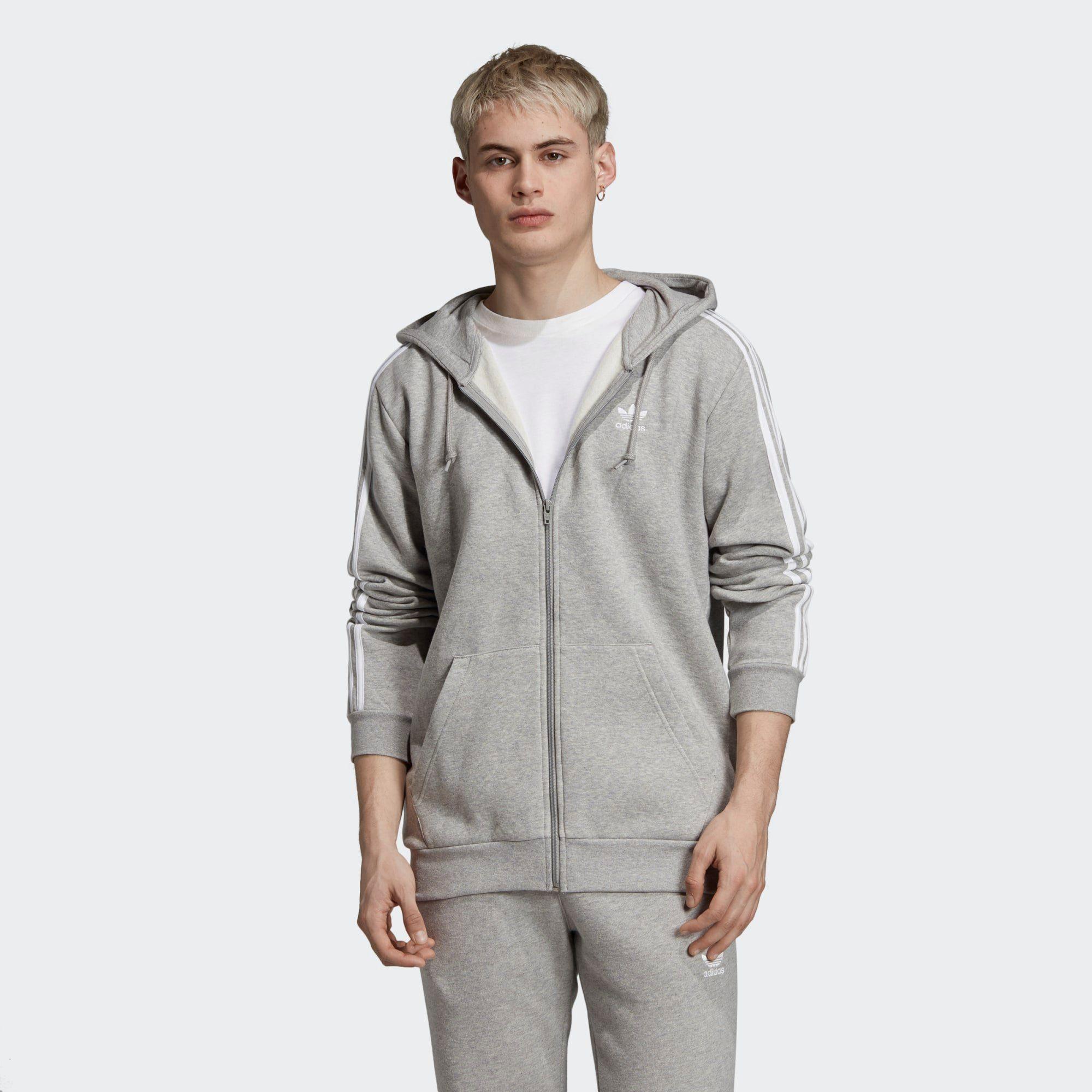 adidas 3 Streifen Kapuzenjacke Damen billig kaufen