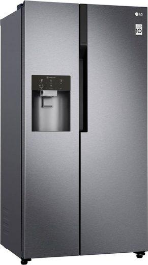 LG Side-by-Side GSL360ICEZ, 179 cm hoch, 91,2 cm breit