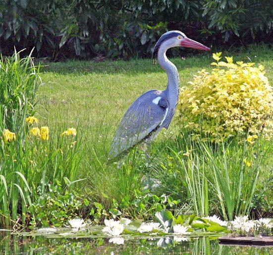 HTI-Living Tierfigur »Gartenfigur Fischreiher«
