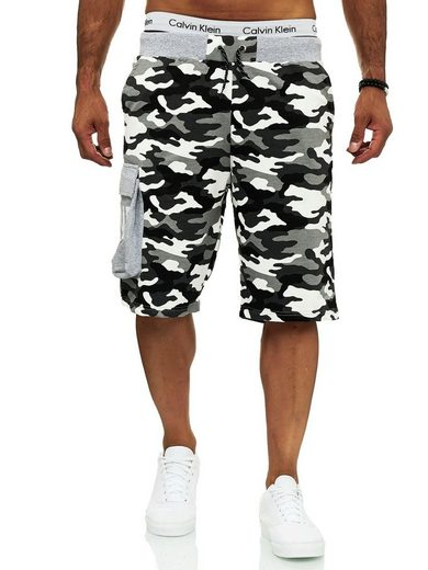 OneRedox Shorts »12141C« (Kurze Hose Bermudas Sweatpants, 1-tlg., im modischem Design) Fitness Freizeit Casual