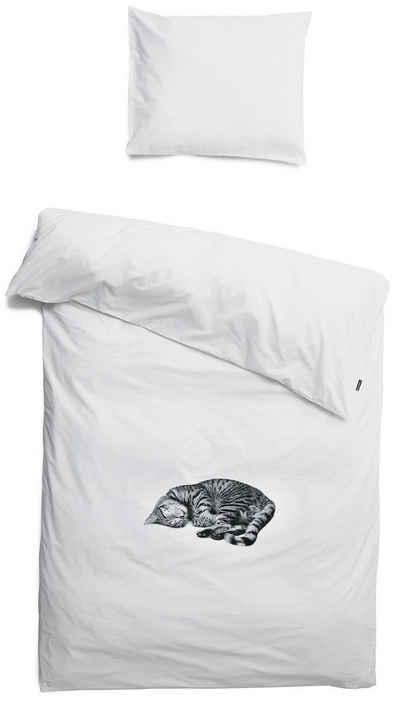 Bettwäsche »Snurk Bettwäsche Ollie 135 x 200 cm 100% Baumwolle«, Snurk