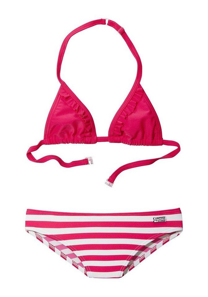 Triangel-Bikini, Buffalo in hummer